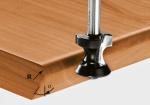 Скругляющая фреза Festool HW S8 D24/R6/15°, хвостовик 8 мм