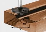 Профильная фреза Festool HW S8 D42/13/R6+12, хвостовик 8 мм