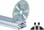 Специальный пильный диск 160x2,2x20 TF52 для алюминия и композитных панелей, а также для твёрдых и армированных пластмасс, Festool Фестул