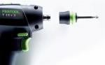 Аккумуляторная дрель-шуруповёрт T 18+3 HPC 4,0 I-Set Festool Фестул 100tool.ru