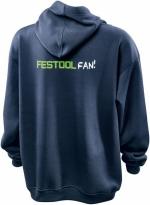 Толстовка с капюшоном для истинных фанатов Festool Фестул. Размер L