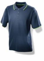 Мужская рубашка поло синяя Festool. Размер: L