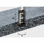 Фреза Festool пригоночная, сменные ножи HW, хвостовик 12 мм, HW S12 D21/30WM