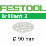 Шлифовальные круги Festool Brilliant 2, STF D90/6 P120 BR2/100