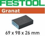 Губка шлифовальная Festool 69x98x26 36 GR/6