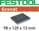 Губка шлифовальная 98x120x13 60 GR/6, Festool Фестул