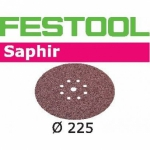Шлифовальные круги Festool Фестул Saphir, STF D225/8 P36 SA/25