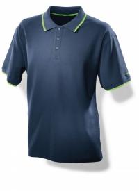 Мужская рубашка поло синяя Festool Фестул. Размер: L
