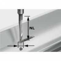 Фреза Festool Фестул для обработки сплавов из алюминия HS с хвостовиком 8 мм, HS S8 D5/NL23