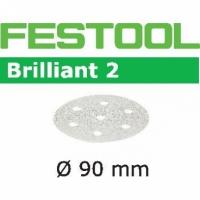 Шлифовальные круги Festool Фестул Brilliant 2, STF D90/6 P180 BR2/100