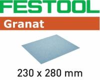 Бумага шлифовальная Festool Фестул 230x280 P80 GR/50
