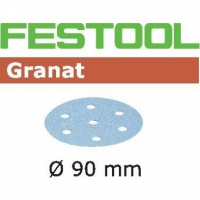 Шлифовальные круги Festool Фестул Granat, STF D90/6 P280 GR /100