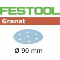 Шлифовальные круги Festool Фестул Granat, STF D90/6 P500 GR/100