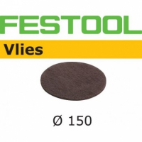 Шлифовальные круги Festool Фестул Vlies StickFix Ø150 мм, STF D150 FN 320 VL/10